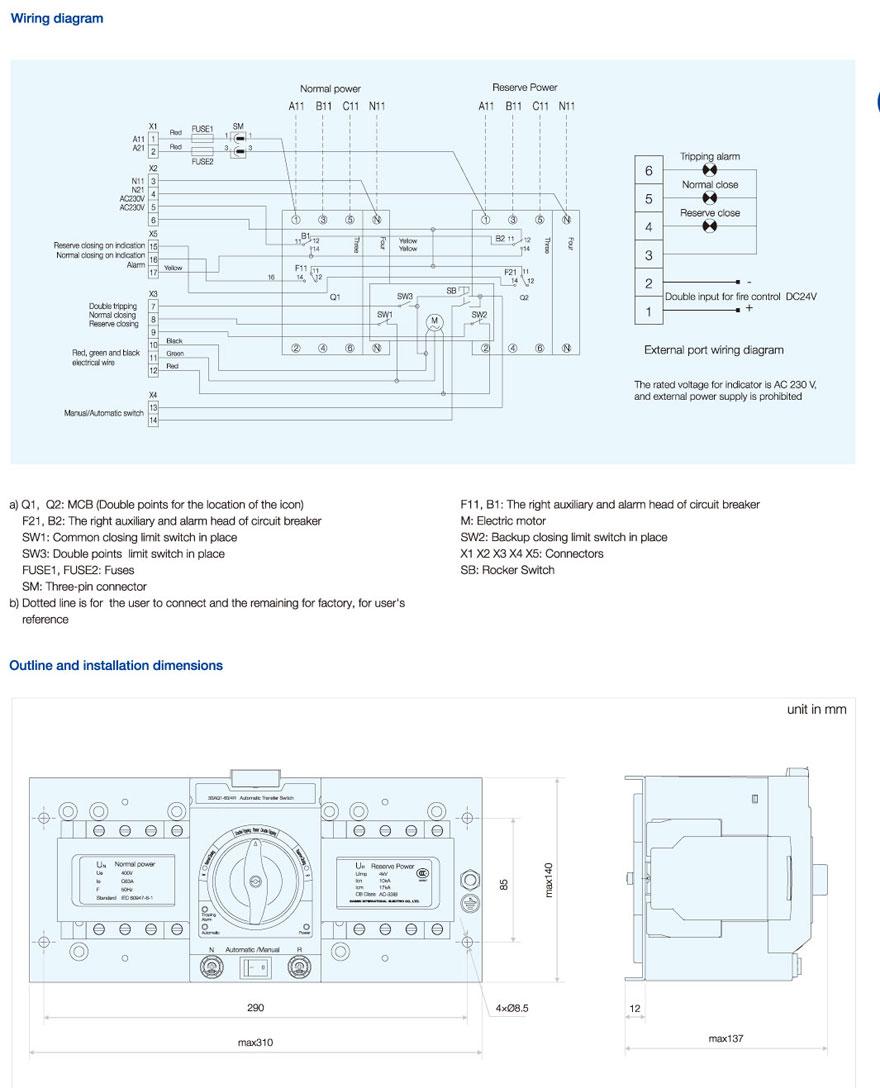 Smq1 100 4p Shanghai Shimin Electric Co Ltd Limit Switch Wiring Diagrams Three Aq1 2